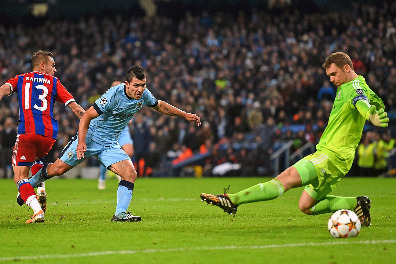 Sergio Aguero turned in another performance to remember at the Etihad.