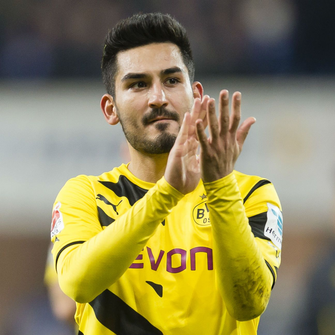 Ilkay Gundogan appeared in 22 Bundesliga matches for Borussia Dortmund in 2014-15.