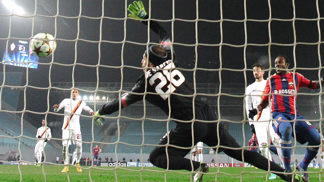 Late Vasili Berezutski leveller rescues CSKA Moscow