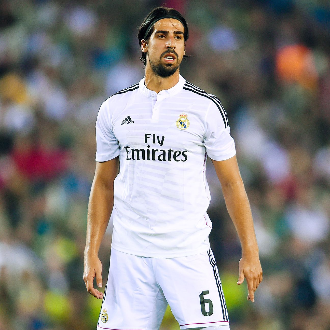 Sami Khedira never made more than 20 starts in a La Liga season during his five years with Real Madrid.