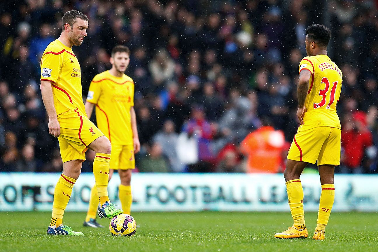Liverpool's season took another turn for the worse after falling to Crystal Palace on Sunday.