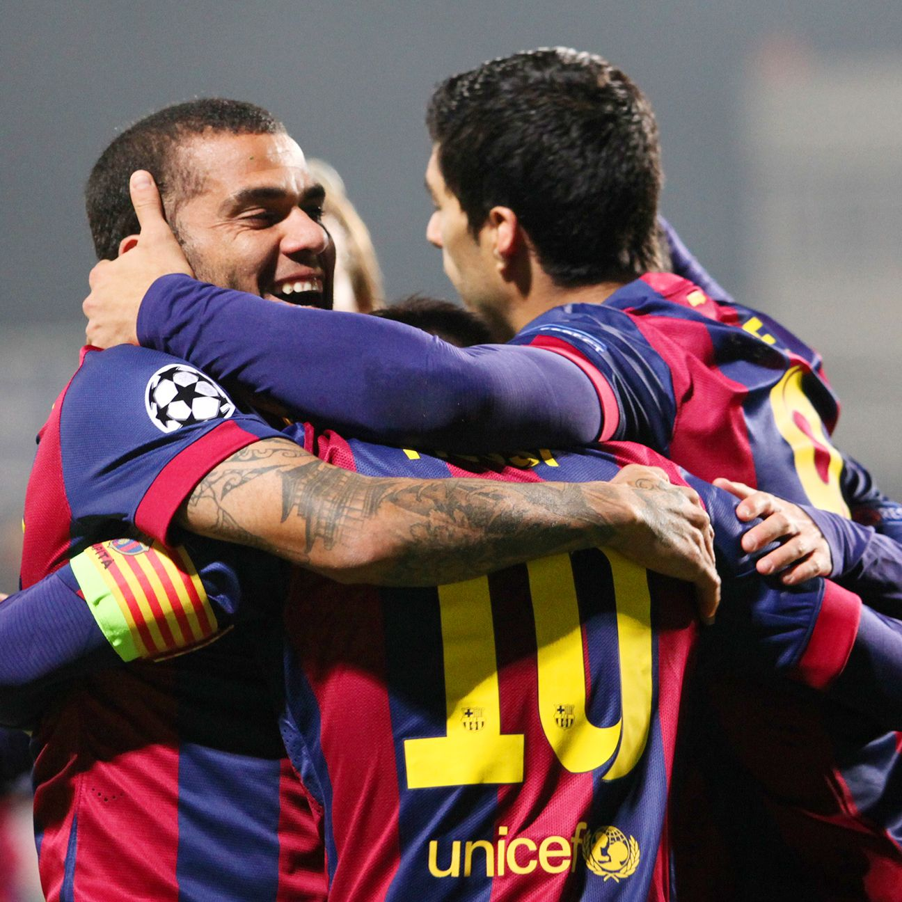 Barcelona have scored nine goals in their last two matches.