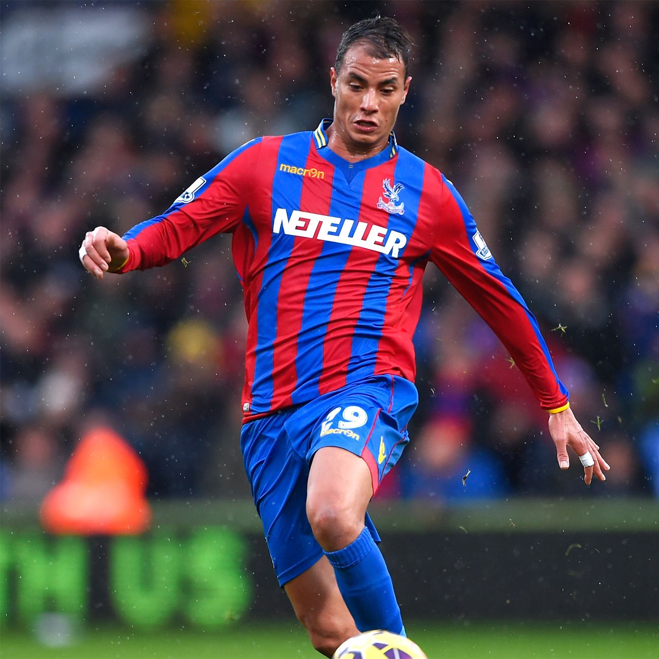 Marouane Chamakh has quietly become a key part of Crystal Palace's success.