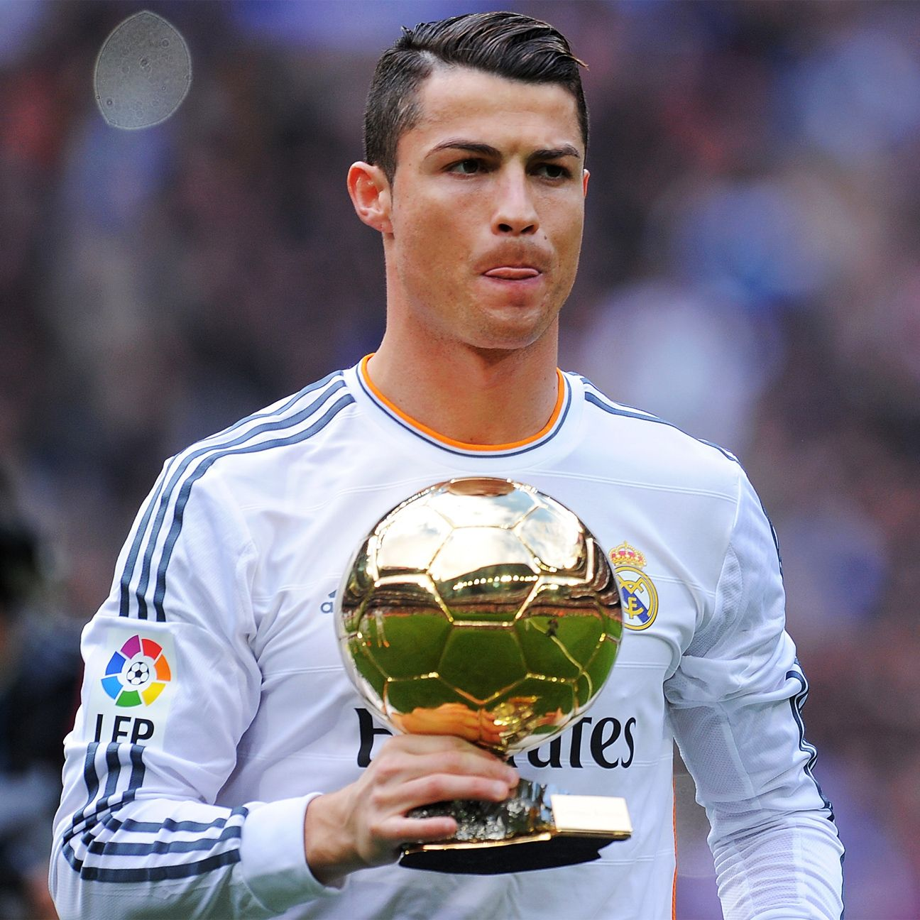 Cristiano Ronaldo has his sight set on a third Ballon d'Or.