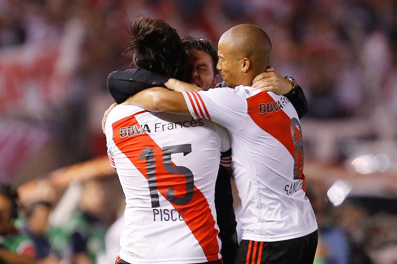 River Plate summoned just enough to edge past rivals Boca Juniors in the Copa Sudamericana semifinals.