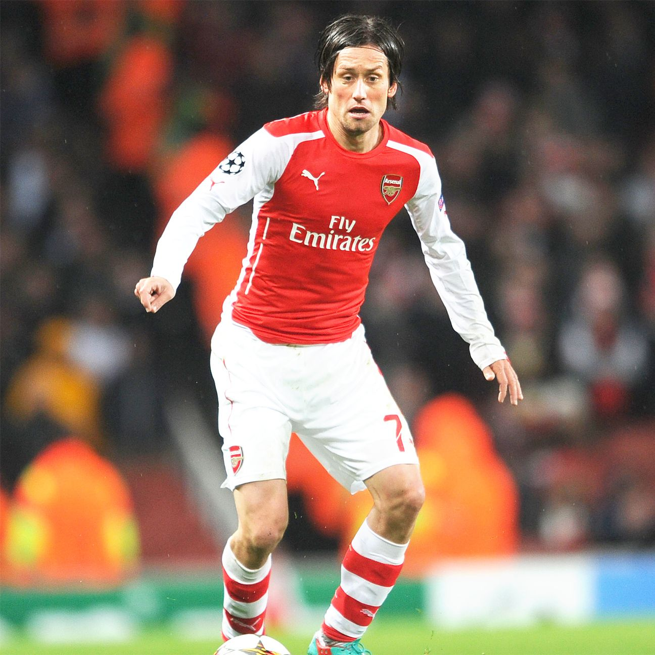 After nine seasons at Arsenal, Tomas Rosicky could be on the way out this summer.