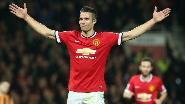 Robin van Persie looks to have returned to form for United, which bodes inauspiciously for Liverpool.