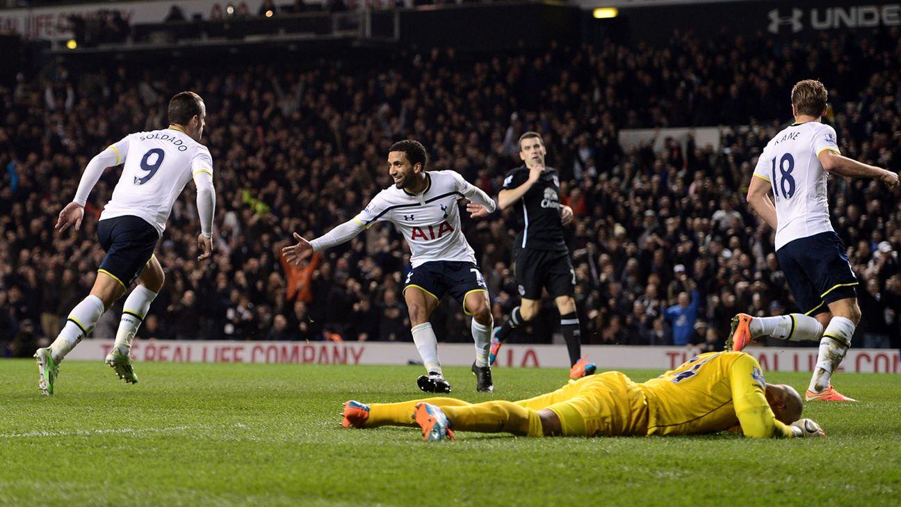Tottenham restore confidence with comeback win vs. Everton