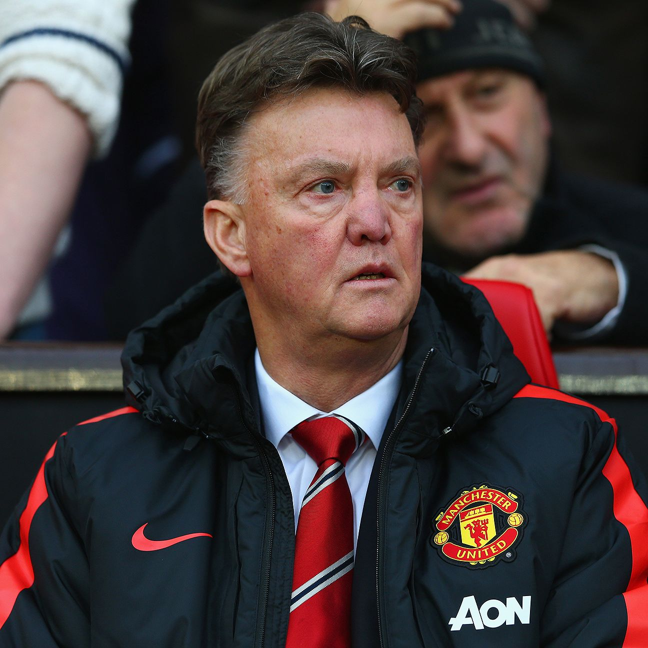 Louis van Gaal's Man United face their second sturdy test of the festive fixtures with a visit to Tottenham on Sunday.