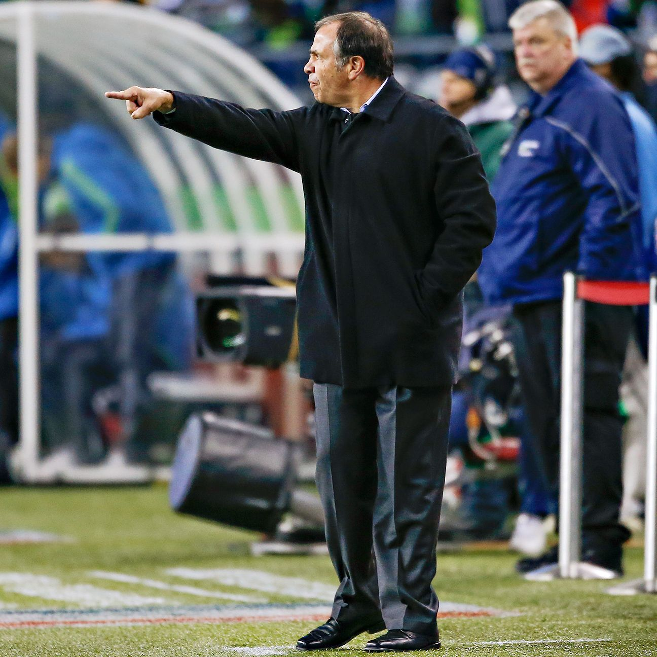After doing enough to limit Seattle's potent attack, Galaxy head coach Bruce Arena must now try to keep New England's creative playmakers in check.