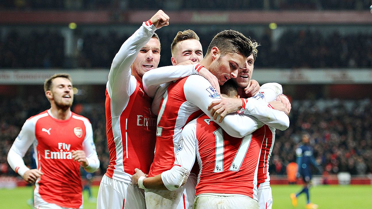Olivier Giroud hopes to score more than Alexis Sanchez at Arsenal