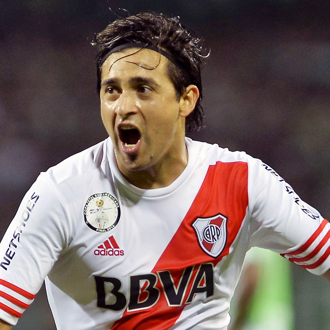 For the second time in less than a week, Leonardo Pisculichi came up big for River Plate, scoring in the second half of the Copa Sudamericana final first leg versus Atletico Nacional on Wednesday.
