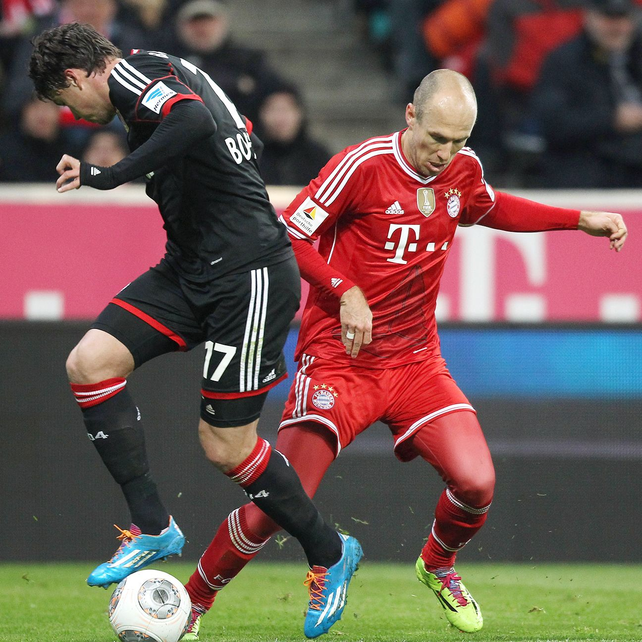 History shows that Bayer Leverkusen can be a tough foe in Munich for Arjen Robben and Bayern.