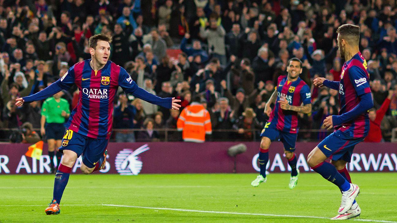 Barcelona [5-1] vs Espanyol 8.12.2014