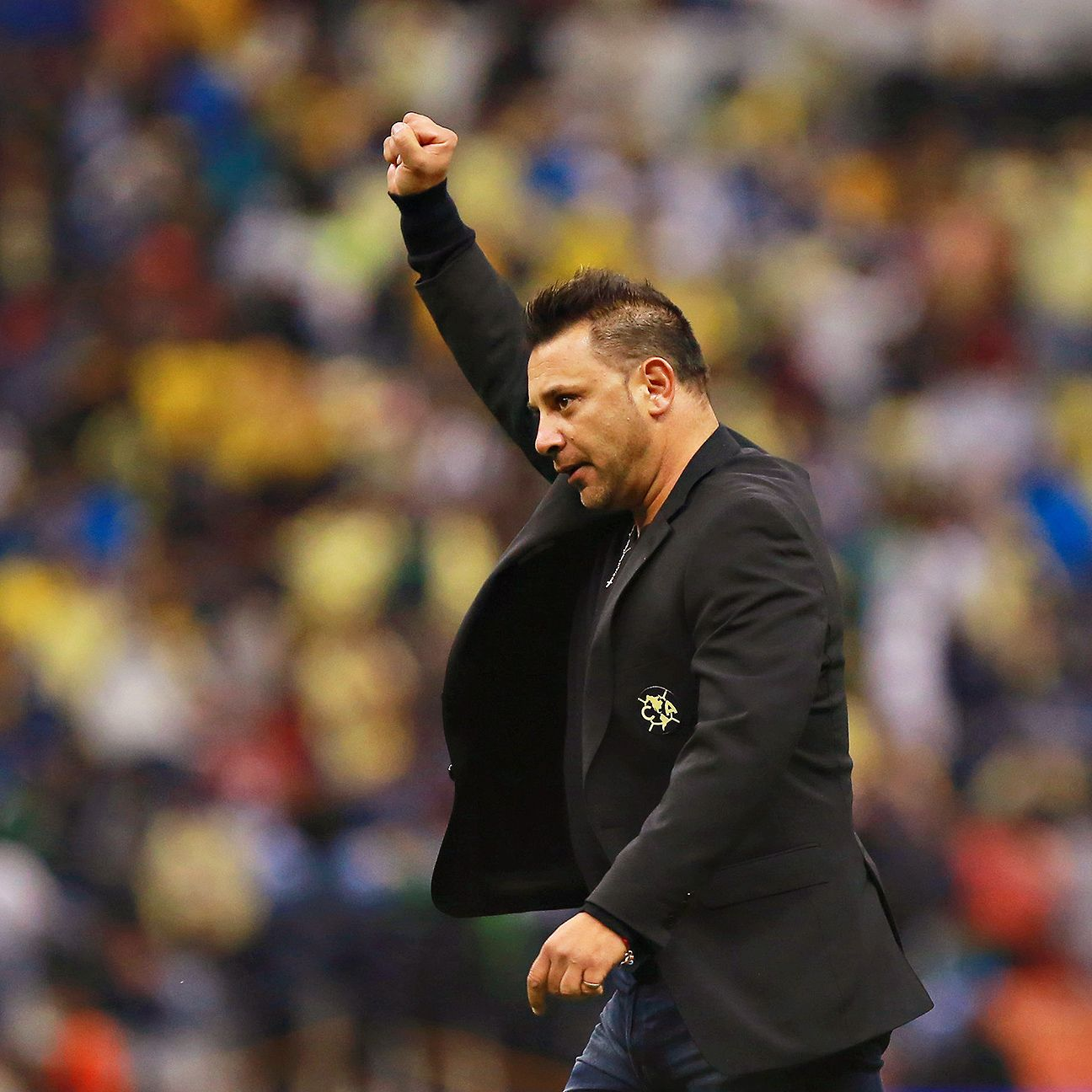 The much-maligned Antonio Mohamed departs Club America as a champion.