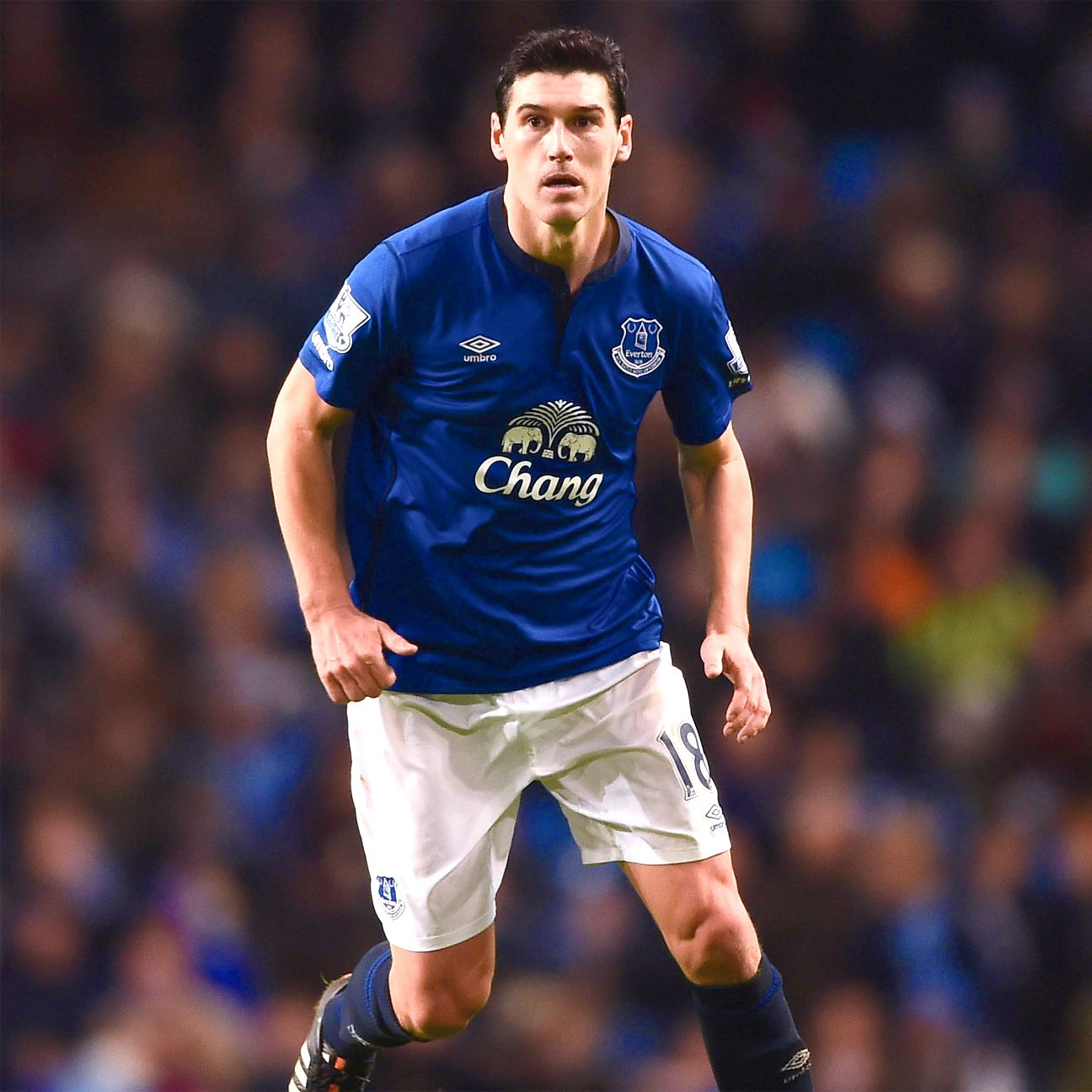 Gareth Barry looked a step behind on Saturday, and his frustration culminated with his fifth yellow card of the season.