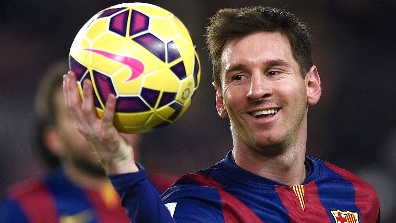 Lionel Messi is a formidable dribbler who regains his balance faster than most people. (Source: www.espnfc.com)