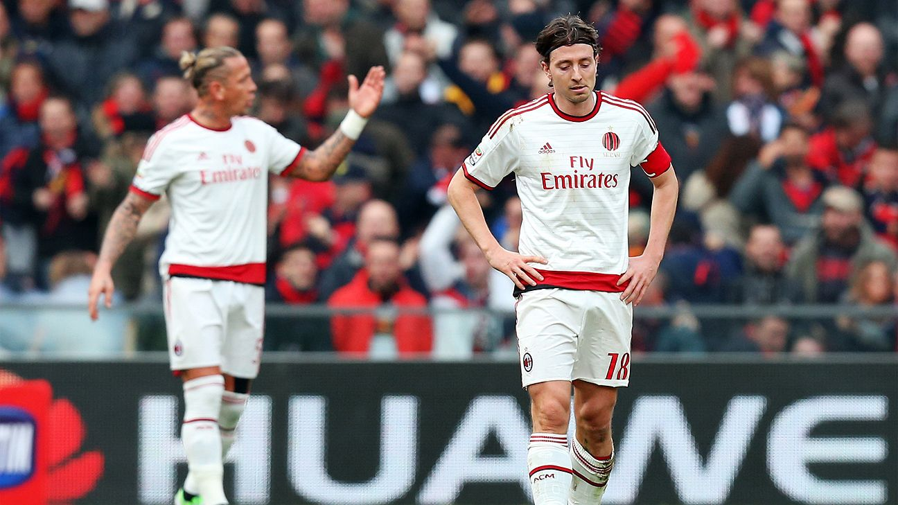 After their best performance of the season last week versus Udinese, Riccardo Montolivo and Milan fell flat at Genoa.