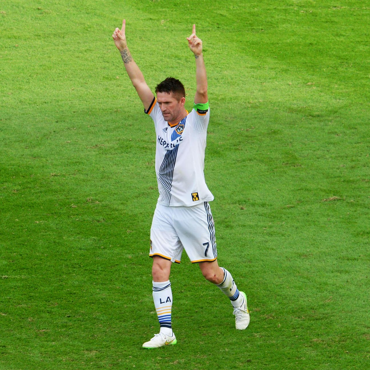 League MVP Robbie Keane came through when it mattered most with an extra time goal to give the Galaxy their fifth title.
