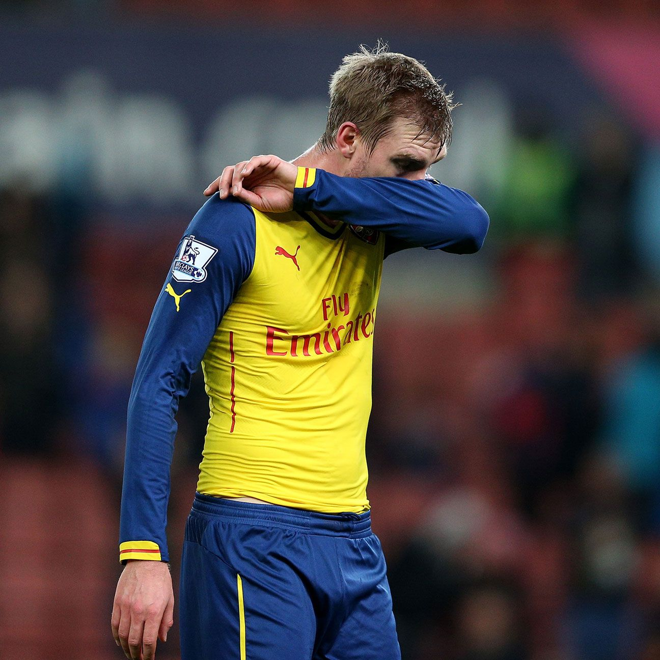It well could be time for the heavily-used Per Mertesacker to receive a break from action in order to regain his form.