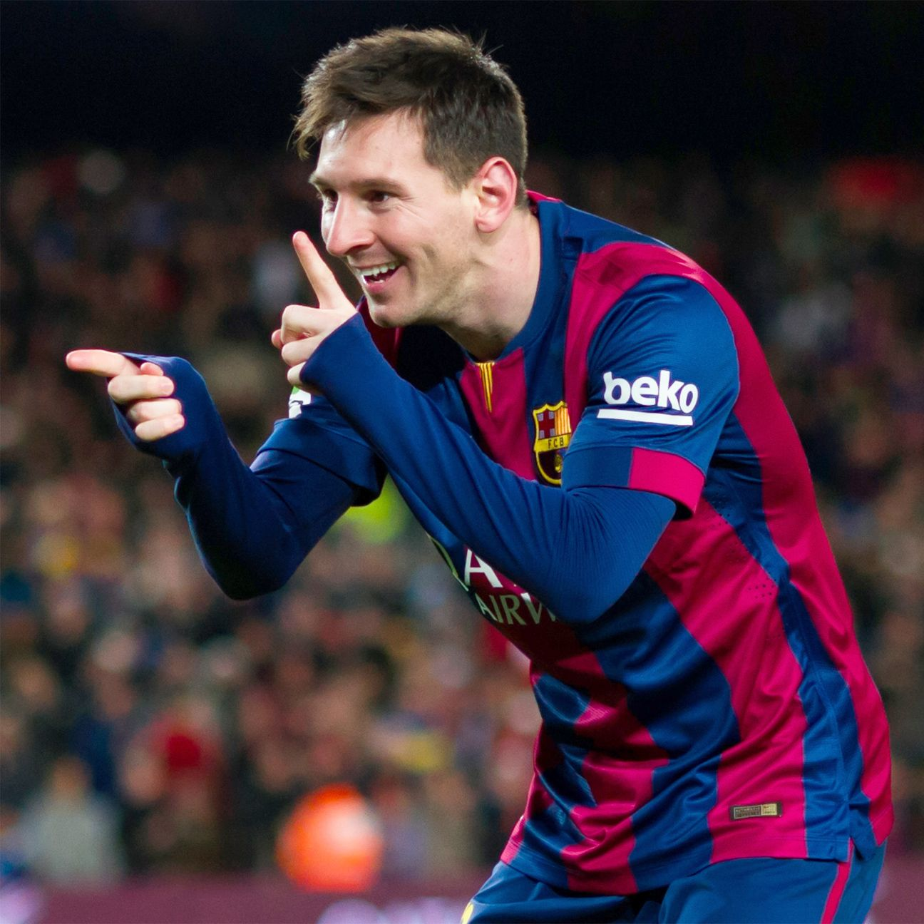 Lionel Messi is in such great form that he seems to be picking and choosing his moments when he scores.