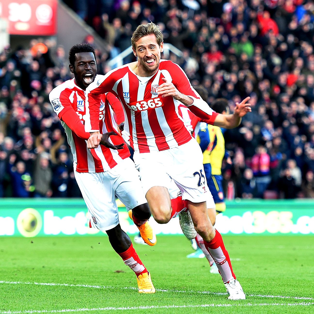 Stoke head to Crystal Palace on the heels of a buoyant home win over Arsenal.