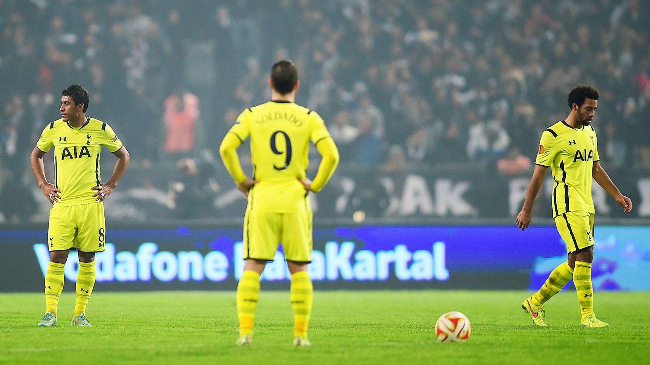 Europa League: Besiktas edge Tottenham to win group