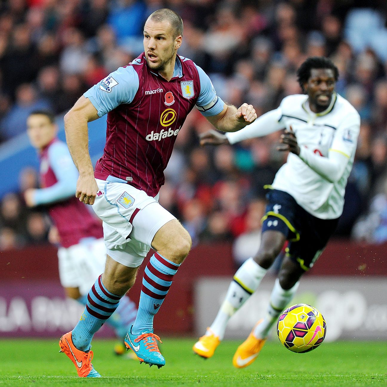 Defender Ron Vlaar may be fit enough to rejoin Villa against West Brom. Whether that is the best idea is something manager Paul Lambert must decide.
