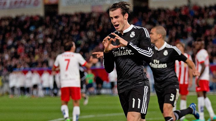 Gareth Bale's late first half header proved to be the match-winner for Real.
