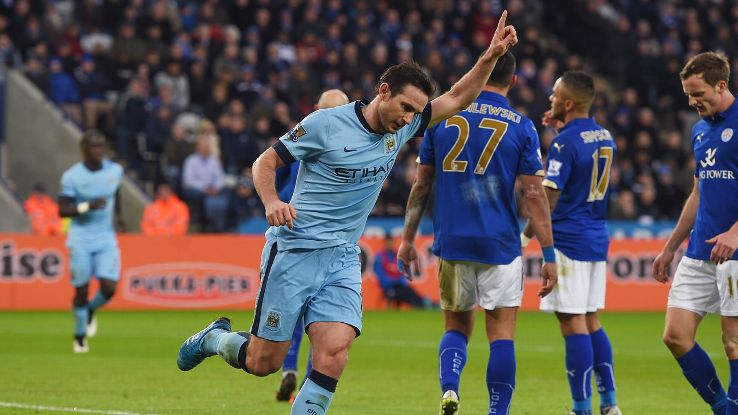 With City missing several of their key men up front, Frank Lampard's savvy and composure was more important than ever against Leicester.