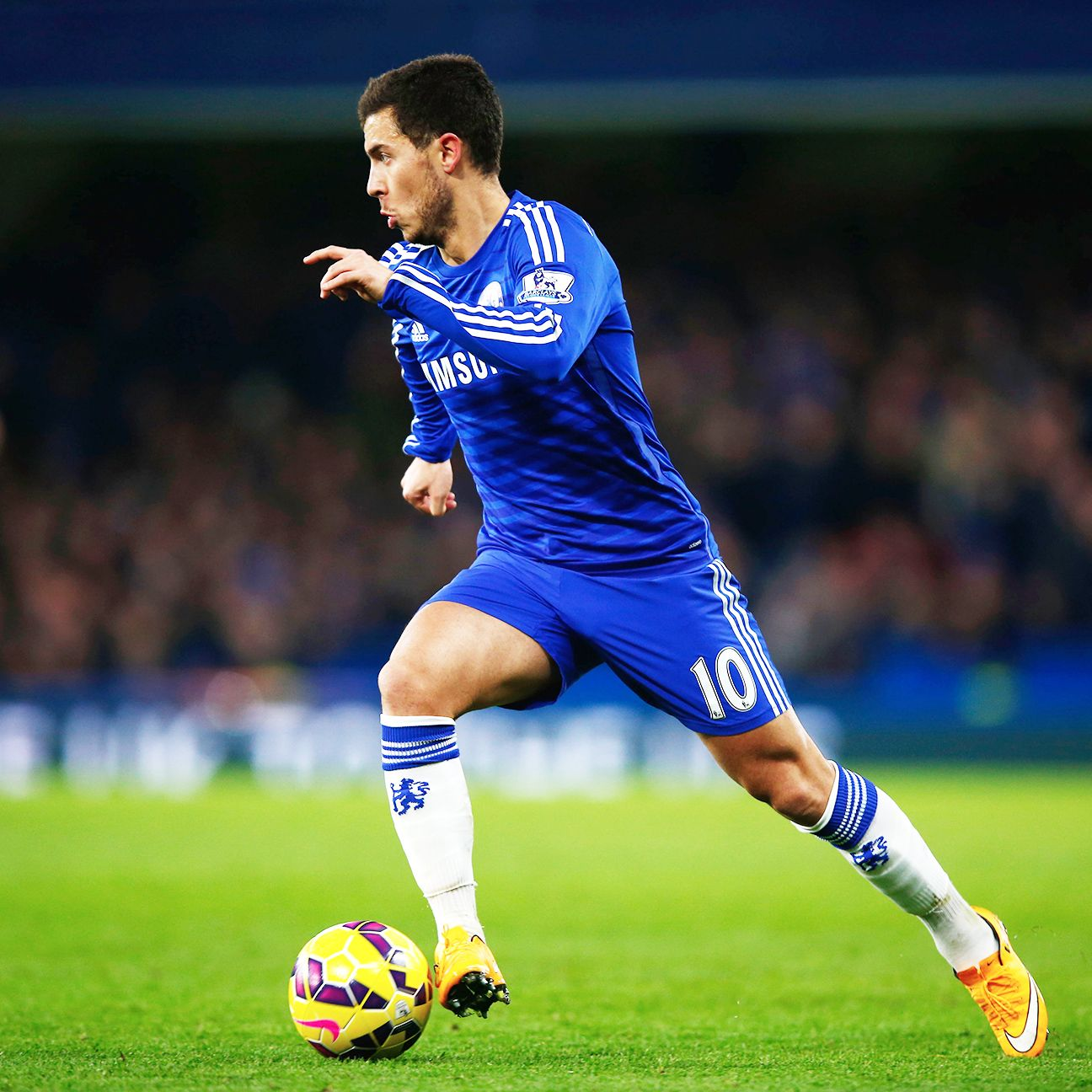 On a day where Chelsea were a bit flat, Eden Hazard provided the necessary attacking impetus.