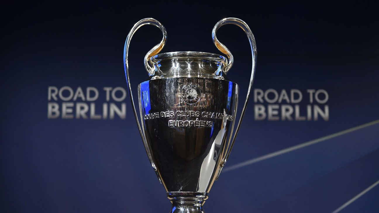 Real Madrid vs. Atletico drawn in UCL quarterfinal, Barcelona face PSG