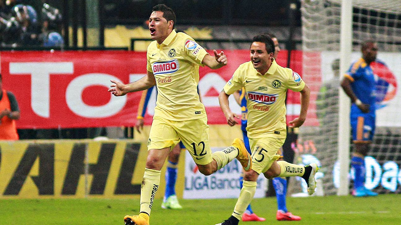Pablo Aguilar and Club America won their second title in 18 months in Sunday night's triumph over Tigres.