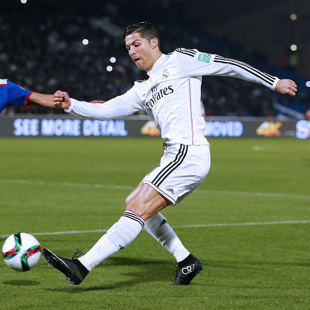 Cristiano Ronaldo upped his season assist total to 12 after setting up two Real scores in Tuesday's win over Cruz Azul.