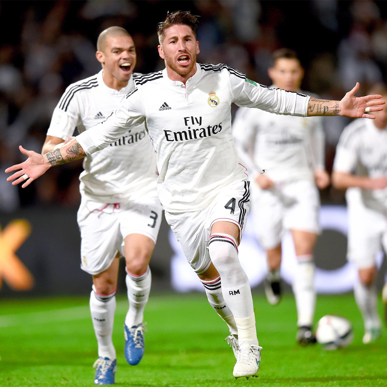 Much like their Champions League run, it was a Sergio Ramos header that put Real Madrid on the scoreboard in their Club World Cup semifinal versus Cruz Azul.