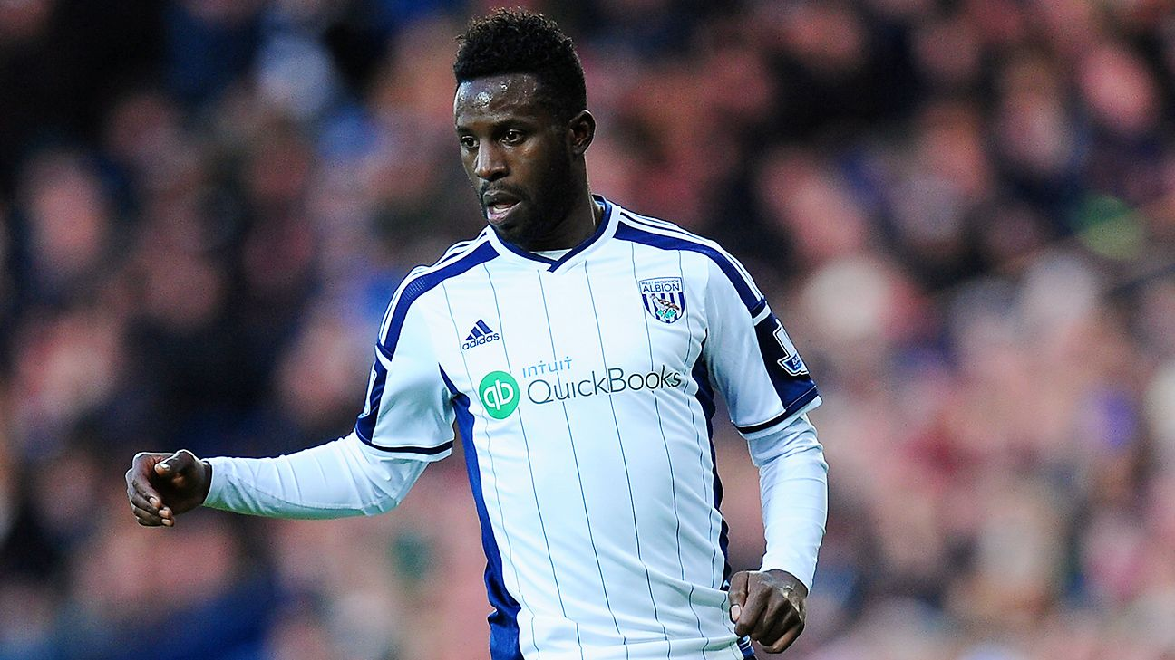 West Brom manager Alan Irvine may opt for the little-used Silvestre Varela over Chris Brunt.