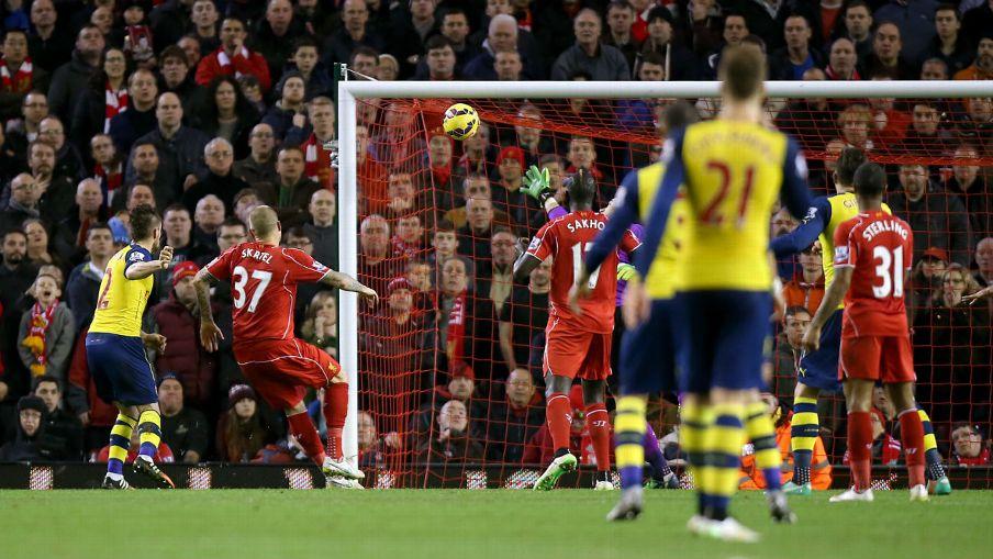 Liverpool vs Arsenal EPL 2014-2015