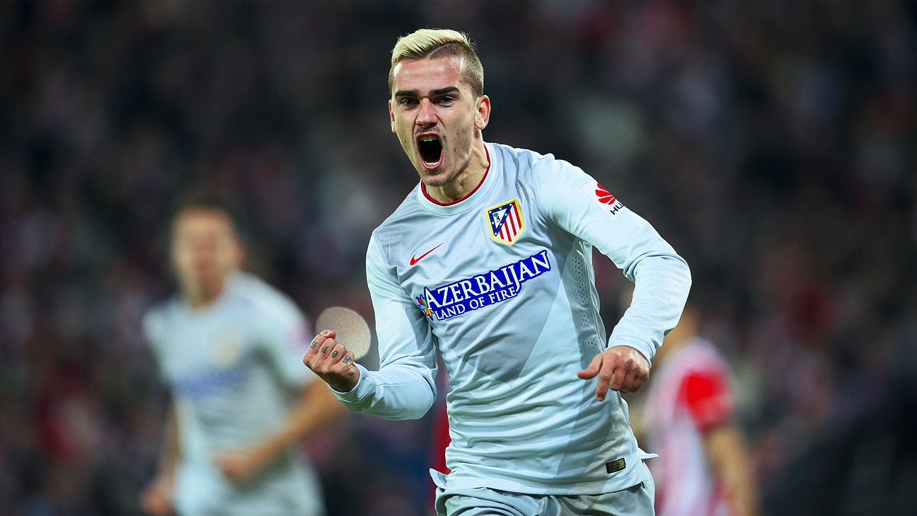 Antoine Griezmann enjoyed his finest night in an Atletico Madrid shirt in scoring a second-half hat trick at San Mames.