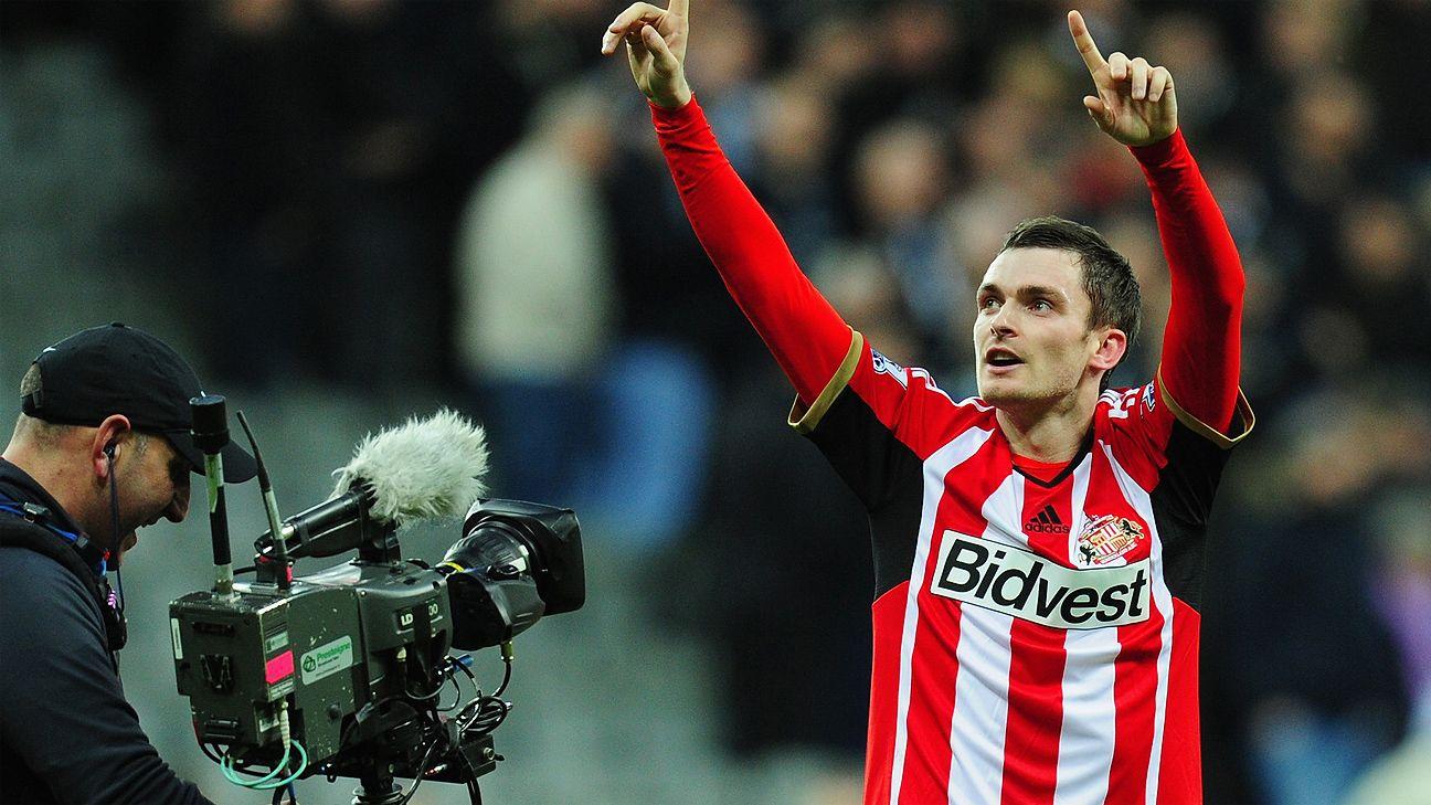 Adam Johnson's timely goal earned Sunderland a third straight St James' Park celebration.