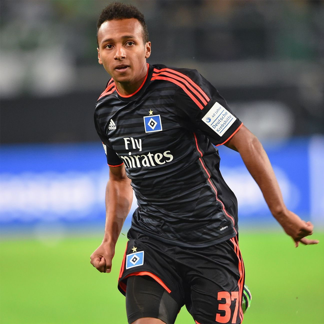 The appearances have been few and far between for Julian Green at Hamburg.