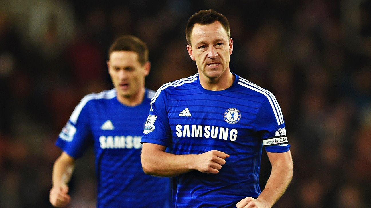 John Terry had Chelsea ahead inside of two minutes with a well-timed header off a Cesc Fabregas corner.