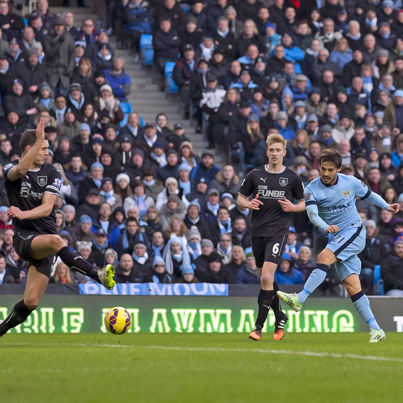 Manchester City's David Silva was once again on target for fantasy owners in Sunday's draw versus Burnley.