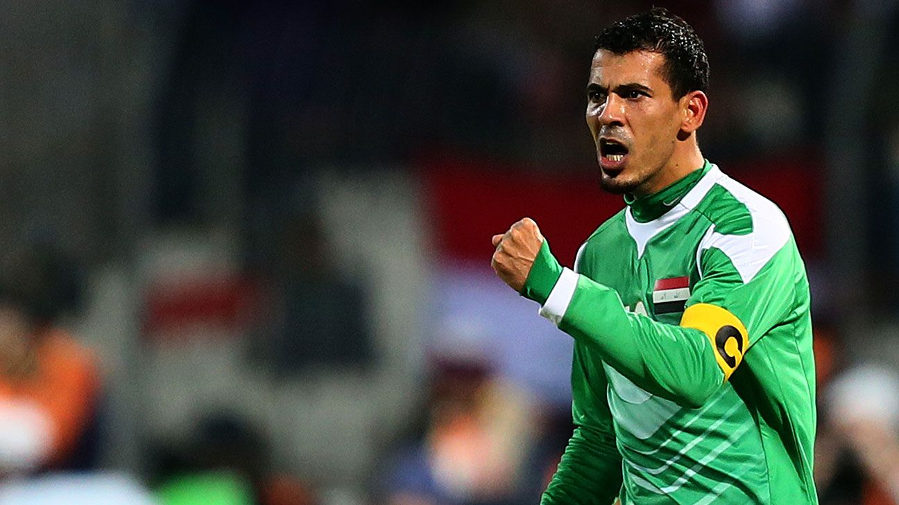 Iconic Striker Younis Mahmoud In Iraq S Afc Asian Cup