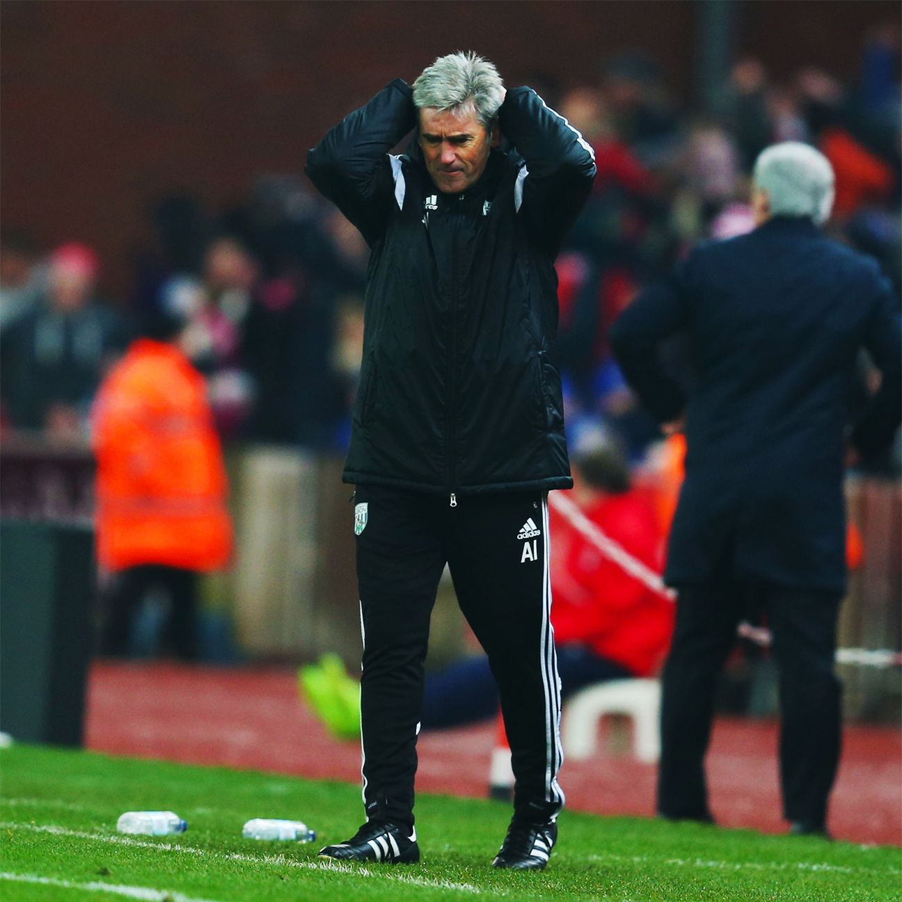 West Brom boss Alan Irvine was booed by supporters following Sunday's 2-0 defeat at Stoke.