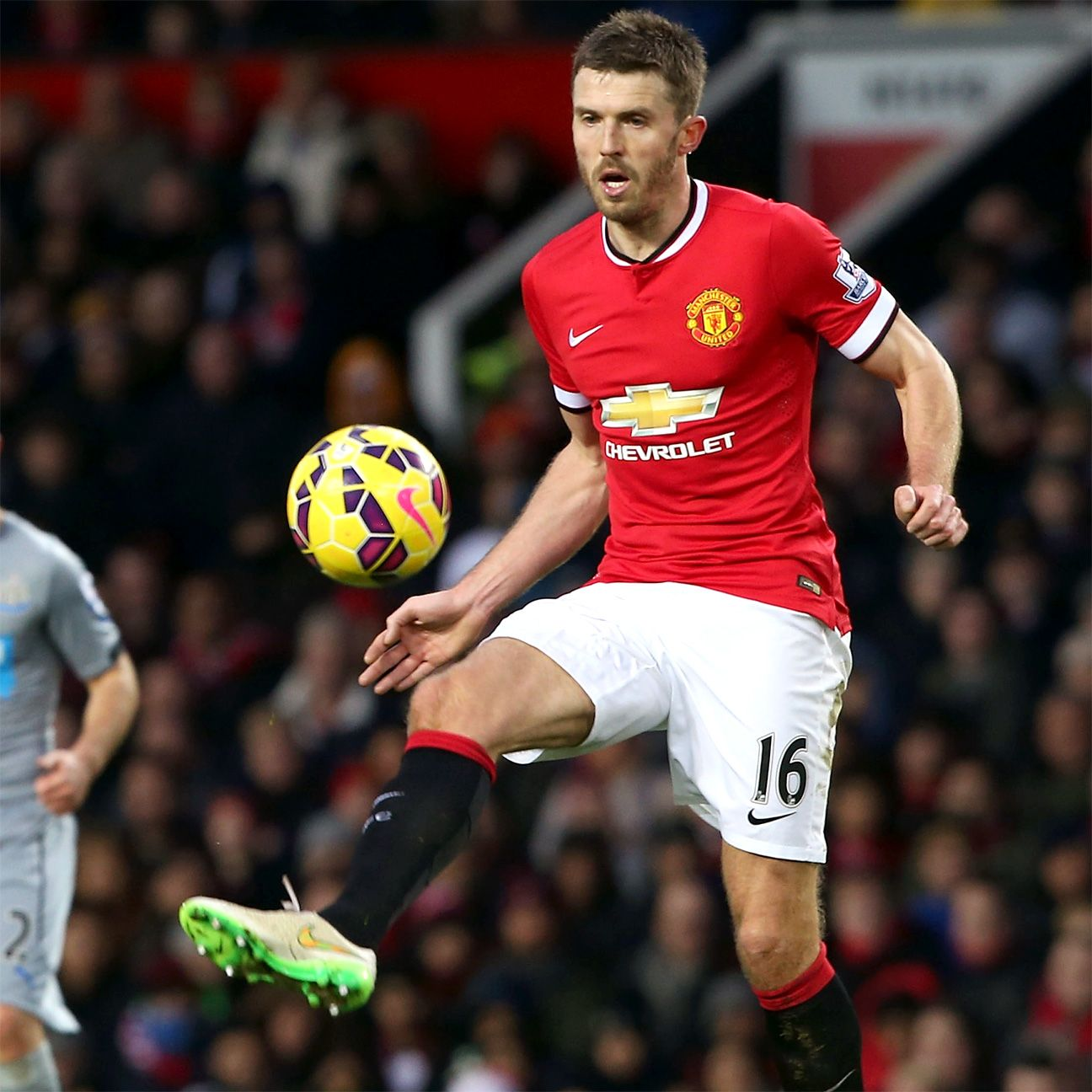 Manchester United have yet to lose a match this season in which Michael Carrick has started.