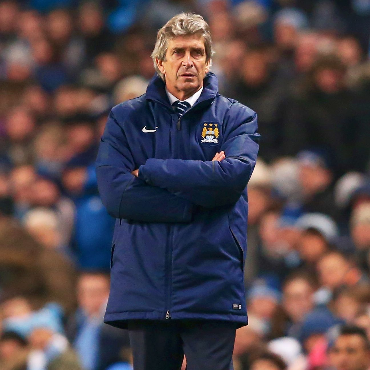 Manuel Pellegrini's Manchester City face a seven-point gap between themselves and leaders Chelsea.
