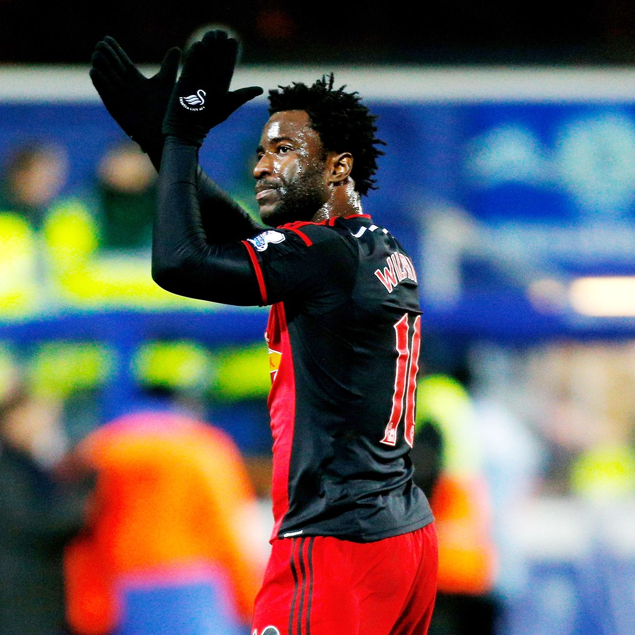 Swansea will face a tough winter stretch without star striker Wilfried Bony.