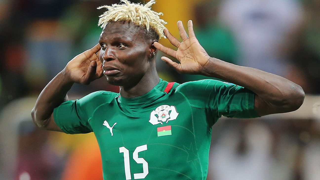 Bance Aristide and the Burkina Faso defence will need to turn in strong performances against their Group A opponents.