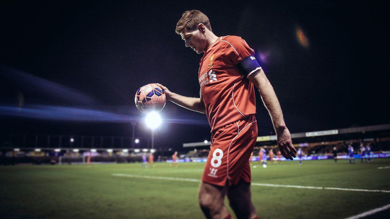 Steven Gerrard joins LA Galaxy from Liverpool, club confirm