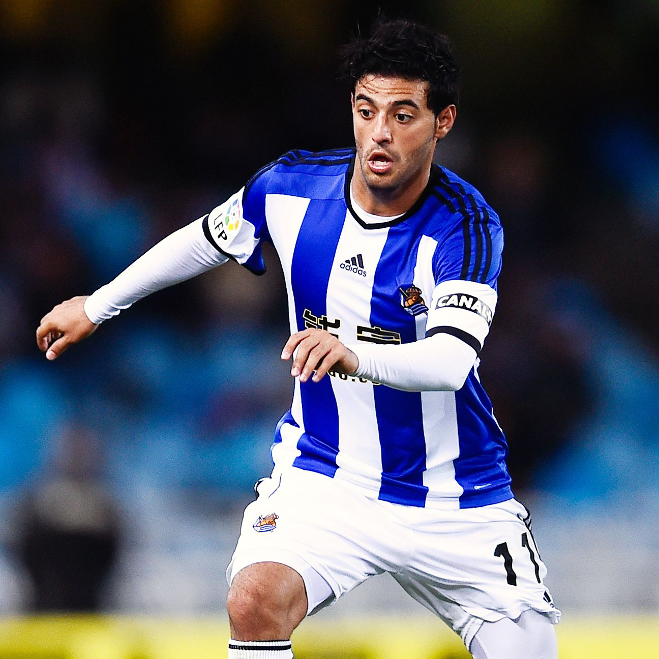 Carlos Vela was given a standing ovation for his performance in Real Sociedad's stunning home win over Barcelona.